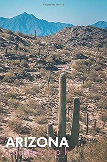 Arizona Notebook: Desert Photo Themed Cover Lined Journal Notebook