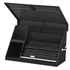 DURABLE TOOL STORAGE CHEST: The Montezuma portable TRIANGE tool storage chest is made for the tradesperson who demands durability, reliability, and long-lasting integrity to protect their valuable tools. KEEPS TOOLS ORGANIZED: The portable tool chest...
