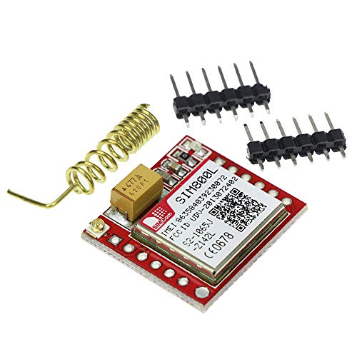 Eastern Computers – Micro SIM800L GPRS GSM MicroSIM Karte Core Wireless Board Quad-Band TTL Serial Port Modul mit Antenne für Arduino