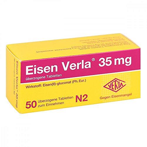 Eisen Verla 35 mg, 50 St. überzogene Tabletten