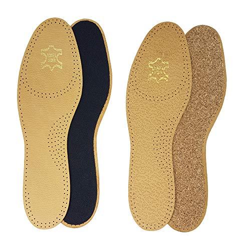 Noene N02 Einlegesohle Shock Absorbing 2 mm f/ür h/öchsten Gelenk Schutz mit Green-Feet Reinigungsfeuchttuch 36