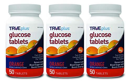 Trueplus Glucose-Tabletten, 50 ct, verschiedene Geschmacksrichtungen, 3 Stück