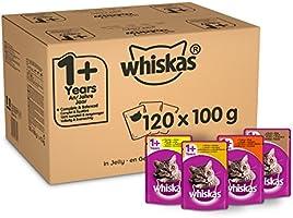 whiskas Våtfoder för Katter- 120 x 100g