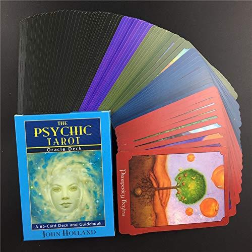 LINGJIA Tarot Cartas 5lots Mejor Vender Las Cartas De Tarot Psíquico Full English Board Games Tarot Card Deck Family Party Playing Cards