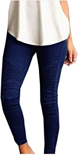 Mogogo Women's Ultra Stretch Long Pants Oversized Regular Pants Leggings