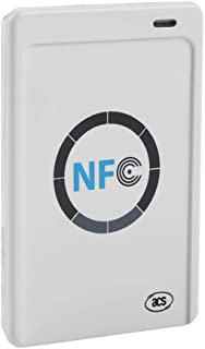 ACR122U - RFID Contactless Smart Reader PC/SC-Compliant 424 Kbps Read/Write Speed 50 mm Reading Distance Supports ISO 14443 Type A&B, Mifare, FeliCa, and All 4 Types of NFC (ISO/IEC 18092) Tags.