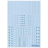 ハイキューパーツ 1/144 RB02 コーションデカール ワンカラーブルー 1枚入 プラモデル用デカール RB02-144BLU
