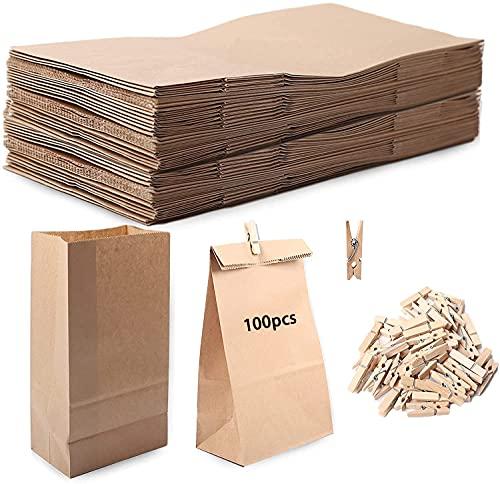 Bolsas de papel, bolsas de papel para dulces Bolsas de regalo coloridas...