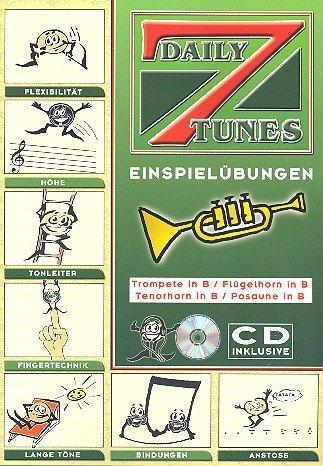 7 Daily Tunes. Trompete, Tenorhorn, Posaune, Flügelhorn