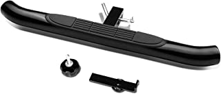 37 inches x 3.25 inches Pedal Class III 2 inches Receiver Hitch Step bar (Black)