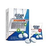 laoonl 15/30pcs hoja de limpieza multiusos fácil quitar limpiador de cocina aceitoso