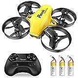 Potensic Mini Drone per Bambini e Principianti con 3 Batterie, Quadricottero RC, Mini Drone...