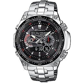 Casio Men's Analogue/Digital Quartz Watch with Stainless Steel Bracelet ECW-M300EDB-1AER (B0039YOH8K) | Amazon price tracker / tracking, Amazon price history charts, Amazon price watches, Amazon price drop alerts