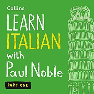 Learn Italian with Paul Noble – Part 1     Italian Made Easy with Your Personal Language Coach              Written by:                                                                                                                                 Paul Noble                               Narrated by:                                                                                                                                 Paul Noble                      Length: 4 hrs and 24 mins     5 ratings     Overall 4.6