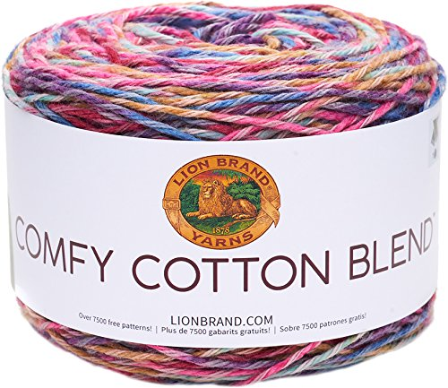 Lion Brand Yarn Company Hilo, Flower Garden, talla única, 200