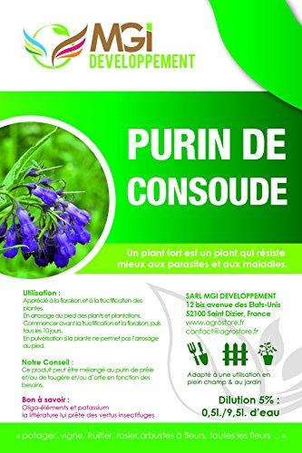 Purín de consuelda hecho en Francia –5litros–fertilizante ecológico