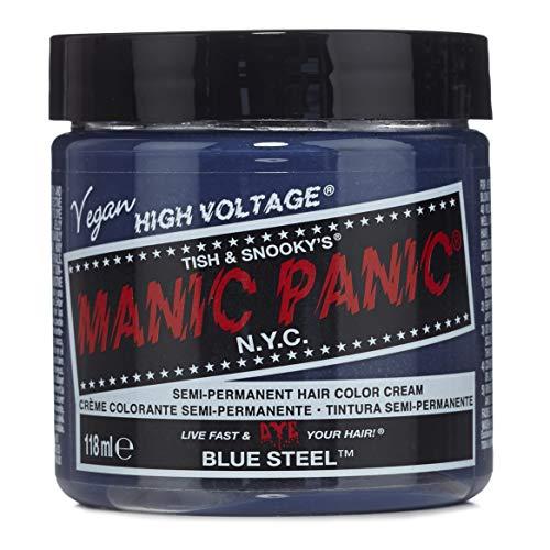 Manic Panic - Blue Steel Classic Creme Vegan Cruelty Free Semi-Permanent Hair Colour 118ml