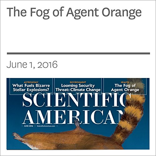 The Fog of Agent Orange audiobook cover art