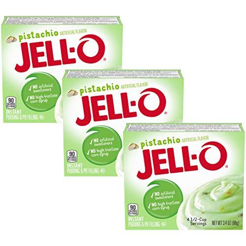 Jell-O Instant Pudding & Pie Filling - Pistachio - 3.4 oz - 3 pk