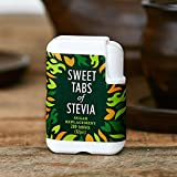 Sweet Stevia Tablets by Good Good - Zero Calorie Sweet Tabs of Stevia Sweetener (200 tablets) - Start Your Sugar Free Lifestyle Now! - Natural Sweetener - Suitable for Diabetics
