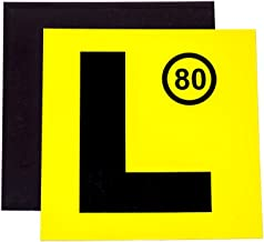 Magnetic L Plates - Easy to Use - Strong Magnet for Safety