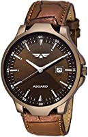ASGARD Date Feature Brown Dial Watch for Men, Boys-183-D-1
