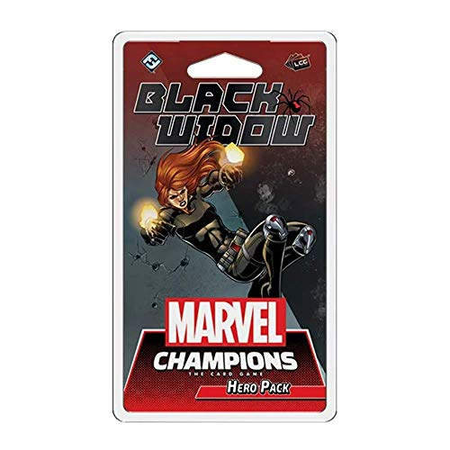 FFG Marvel Champions: The Card Game - Black Widow - English