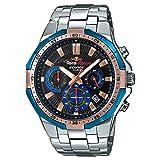 Orologio Casio EDIFICE TORO ROSSO EFR-554TR-2AER Al quarzo (batteria) Acciaio Quandrante Blu Cinturino Acciaio