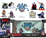 Jada Toys Beholder Dungeons Dragons Nano Figures Bundled with Epic Fantasy Adventure D&D Metal Elf / Cleric / Fighter + Orc / Ranger / Bard / Paladin 2 Items