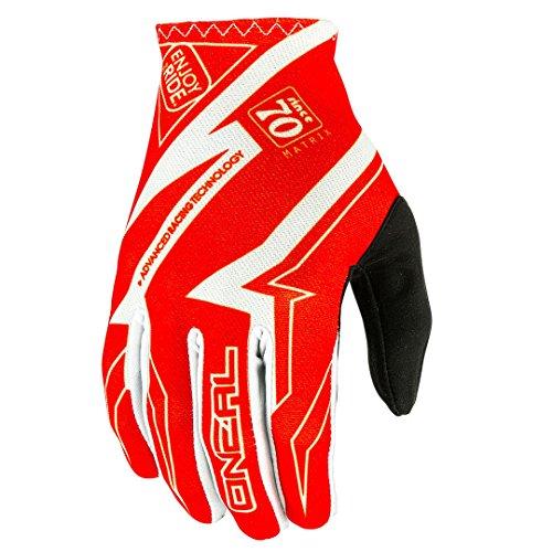 O'Neal Matrix MX Handschuhe RACEWEAR Rot Motocross Enduro Offroad, 0388R-7, Größe 2XL