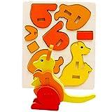 winwintom 3D Puzzles de Madera, Montessori Mini Juguete Divertido Educativo para Niños Buena Elección para Regalo (Modelo_C)