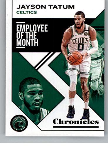 2019-20 Panini Chronicles #4 Jayson Tatum Boston Celtics NBA Basketball Trading Card