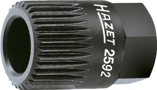 Hazet 2592 Keil(rippen) riemenscheibe-Adapter, s: 19,6