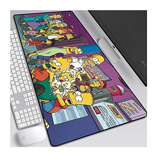1STSPT Anime Mouse Pad Gaming Mouse Pad Gamer Grote Muis Mat Grote Computer Mousepad XXL 900X400 Oppervlak Mausepad Toetsenbord Bureau Mat, 900X400X3MM, Table mat-j