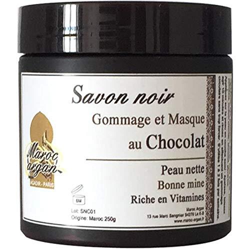 Gommage et Masque au Chocolat et Savon Noir - Peau...