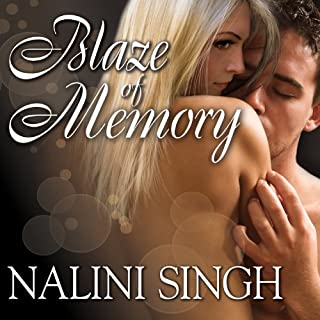 Blaze of Memory audiobook cover art