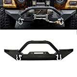 Front Bumper For 1986-2006 Jeep Wrangler TJ YJ With D-rings NeverGoOutOf Style