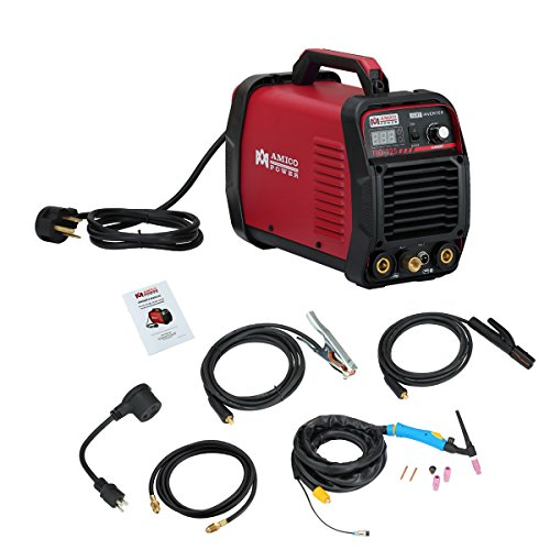 TIG-225, 220 Amp High Frequency TIG, Stick ARC MMA Welder, 115/230V Dual Voltage...