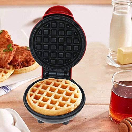Breadmaker Mini Waffle pan, Household Handig, volautomatische Plug-in elektrische Baking pan, Ontbijt loempia 8bayfa