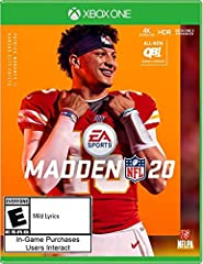Face of the Franchise: QB1: Be the face of an NFL franchise where the decisions you make matter in your journey to become an NFL superstar Franchise: Simulate a full NFL career and leave your legacy as a player, coach or owner with single player and ...