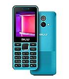 BLU Tank II T193 Unlocked GSM Dual-SIM Cell Phone w/Camera and 1900 mAh Big Battery - Unlocked Cell Phones - Retail Packaging (Cyan)
