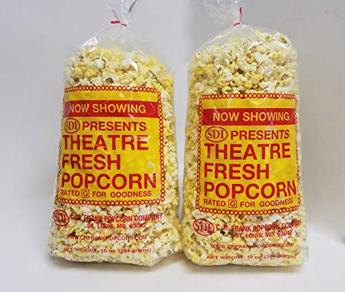 Buy C.R. Frank Popcorn Gourmet Butter Popcorn - 10 oz Bag (Pack of 2)