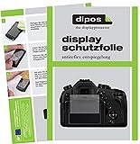 dipos I 6X Schutzfolie matt kompatibel mit Panasonic LUMIX DMC-FZ1000EG Folie Displayschutzfolie