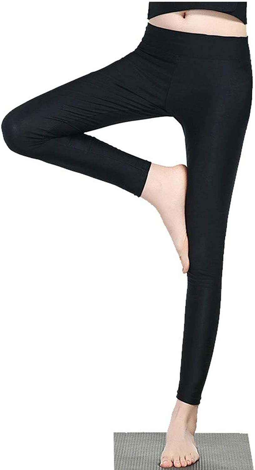 YONGYONG New Explosion Sweat Pants Female Large Size Legs Fitness Pants Sports Running High Waist Slim Sweating Yoga Pants (color   Black, Size   M)