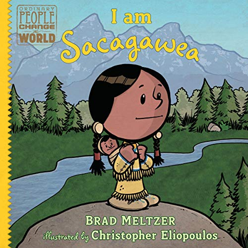 I Am Sacagawea audiobook cover art