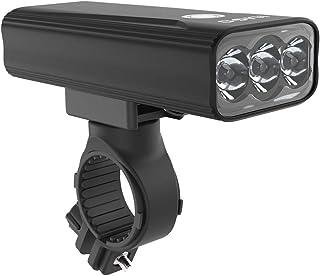 自転車 ライト USB充電式 防水 LEDヘッドライト 1200ルーメン 高輝度大容量6400mah 自転車ライト アルミ合金製 自転車用ヘッドライト 長時間 クロスバイク ロードバイク ライト 同時に5つおよび3つの照明モード 懐中電灯兼用 ...