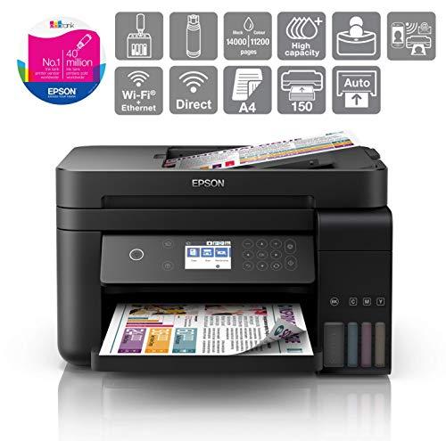 Epson EcoTank ET-3750 A4 Print/Scan/Copy Wi-Fi Printer