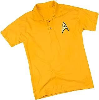 Star Trek Command Emblem - Adult Embroidered Appliqué Polo Sportshirt