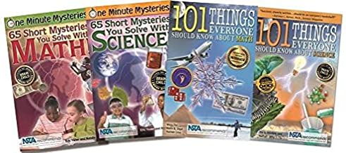 Smart Kid Book Set (One Minute Mysteries + 101 Things Everyone Should Know About...)