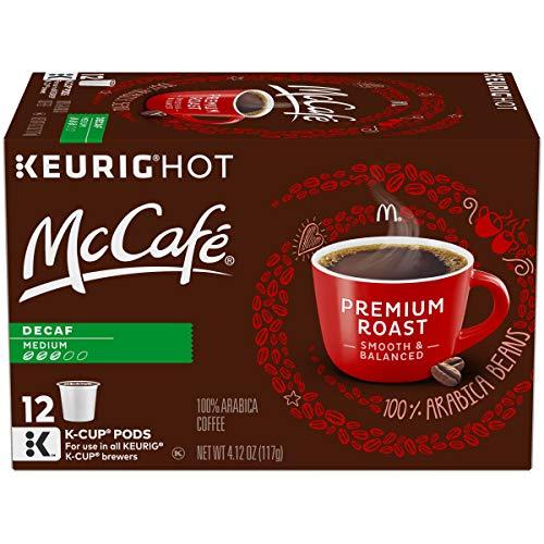 McCaf Decaf Premium Medium Roast K-Cup Coffee Pods (12 Pods)